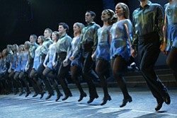 """Promotional photo of performers from """"Riverdance: Live Fr..."""