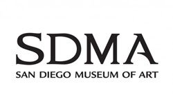 Graphical logo for San Diego Museum of Art.