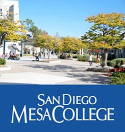 Exterior image of San Diego Mesa College.