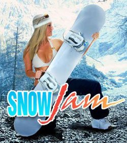 Promotional image for SnowJam 2011.