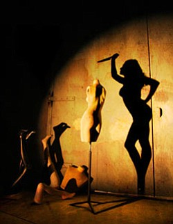 The Threepenny Opera promotional graphic. Performances ta...