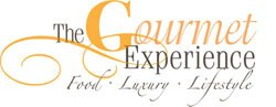 Graphic Logo for The Gourmet Experience.