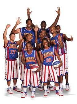 Image of the The Original Harlem Globetrotters.