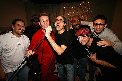 Image of the members of The English Beat.