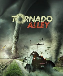 "Promotional graphic for the ""Tornado Alley"" IMAX® film."