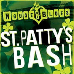 Promotional graphic for St. Patty's Day Bash! at House of...