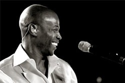 Promotional photo of Kem live in South Africa.