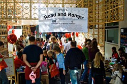 A photo from last year's Read And Romp. This year's takes place on May 14th, 2011 at 9 a.m.