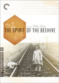 """Promotional graphic for the film """"Spirit Of The Beehive."""" Director: Victor Erice, 1973"""