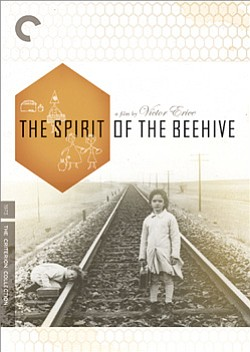 "Promotional graphic for the film ""Spirit Of The Beehive."" Director: Victor Erice, 1973"