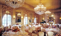 Promotional photo of the Versailles Ballroom at The Westgate Hotel, located at 1055 Second Avenue, San Diego, CA, 92101. Credit: The Westgate Hotel