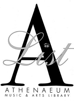 Signature logo  for the Athenaeum's The A List.