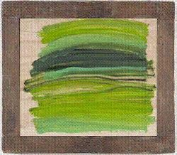 Howard Hodgkin, Big Lawn. Oil on wood, 2008–10. Courtesy of the Artist.