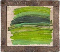 Howard Hodgkin, Big Lawn. Oil on wood, 2008–10. Courtesy ...