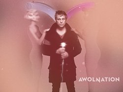 Promotional graphic for AWOLNATION