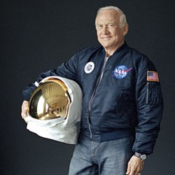 Promotional photo of Buzz Aldrin.