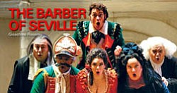 "Promotional Graphic for ""Barber of Seville"" courtesy of San Diego Opera."