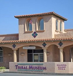 Graphic of Barona Cultural Center & Museum (Exterior View).