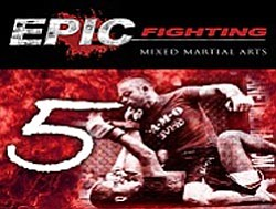 Epic Fighting MMA promotional graphic.