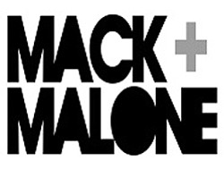 Mack And Malone promotional graphic. Performing live on February 25th, 2011.