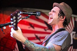 Photo of musical artist Chris Carrabba from Dashboard Con...