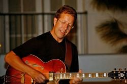 Image of jazz guitarist, Chris Montgomery.