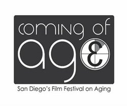 Graphic image for the Coming of Age Film Festival.
