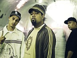 Dilated Peoples group shot.