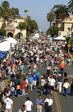 Image of Balboa Park's EarthFair.