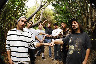 Image of the progressive reggae band, Fortunate Youth.