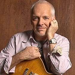 Promotional photo of Peter Frampton.