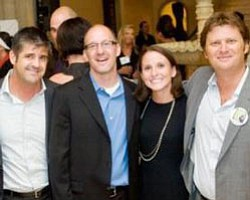 The Gallery members Scott Dunklee, Keith York, Kim Primerano, and Sam Dychter