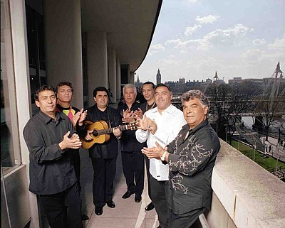 Image of the legendary ensemble, Gipsy Kings.