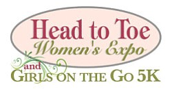 Promotional logo for the The Head to Toe Women's Expo.