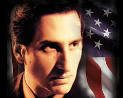 "Promotional graphic for ""Hershey Felder In Concert: The Great American Songbook,"" July 11 - 17, 2011, at the Old Globe Theatre. Photo courtesy of The Old Globe."