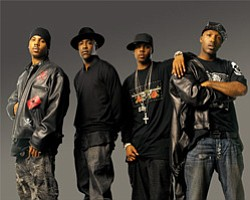 Image of Jagged Edge at 4th & B May 15th, 2011.