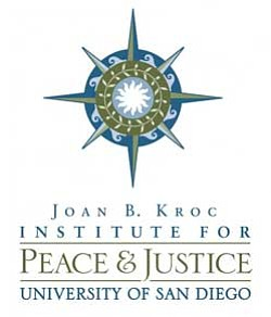 Graphic logo for the Joan B. Kroc Institute for Peace & Justice