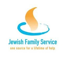 Graphic logo for Jewish Family Service of San Diego