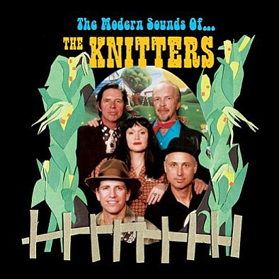 "Cover image of The Knitters' album, ""The Modern Sounds of The Knitters."""