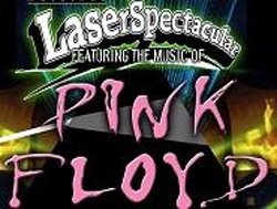 Promotional graphic for the Pink Floyd Laser Spectacular at 4th & B, May 13th, 2011.