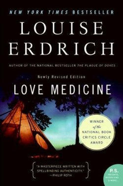 """Book cover for Louise Erdrich's """"Love Medicine."""""""
