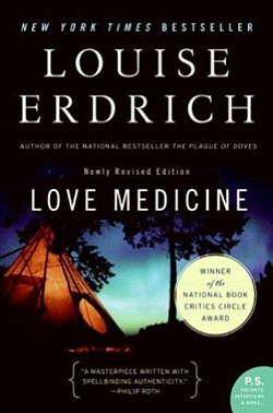 "Book cover for Louise Erdrich's ""Love Medicine."""