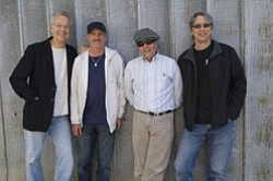 Promotional photo of the Manzarek-Rogers Band.