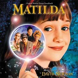 "Promotional graphic for the film titled ""Matilda"" (1996), director, Danny DeVito."