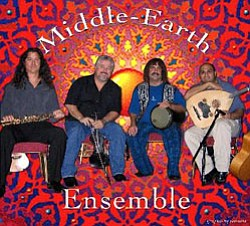 Promotional image of the gypsy-influenced band Middle-Ear...