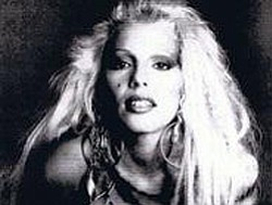 Missing Persons lead singer, Dale Bozzio.