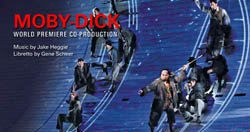 """Promotional Graphic for """"Moby Dick"""" Music by Jake Heggie. Photo courtesy of San Diego Opera."""