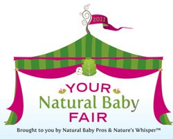 Promotional graphic for 2nd Annual 'Your Natural Baby Fair.'