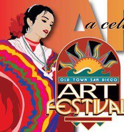 Come see the art festival in Historic Old Town San Diego!
