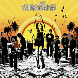 Graphical image of the band Orgone.